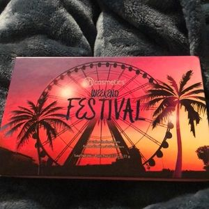 Bh cosmetics weekend festival pallet
